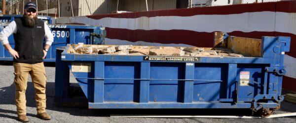 8 Cubic Yard Roll Off Dumpster