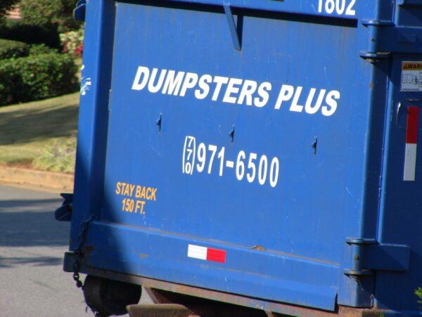 Roll Off Dumpster Rental Marietta