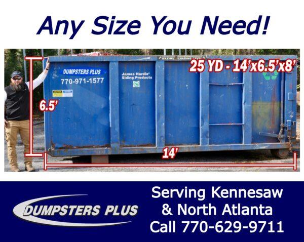 Roll Off Dumpster Rental Kennesaw